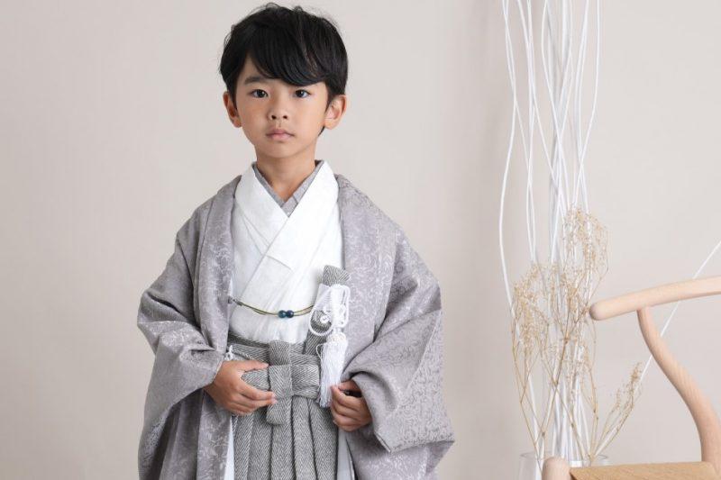 キッズ男の子 5歳羽織袴セット(新商品追加)