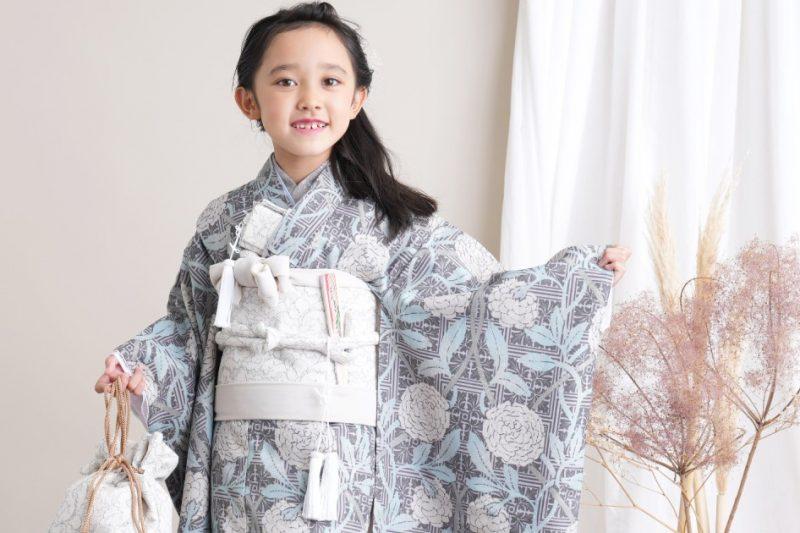キッズ 女の子 7歳着物 四つ身(新商品追加)